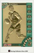 2013 AFL Teamcoach Cards Star Wild Card SW13 Brad Ebert (Port Adelaide)