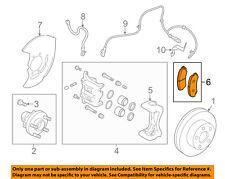 Infiniti NISSAN OEM 14-15 Q50 Brake-Front Pads D10604GA0A