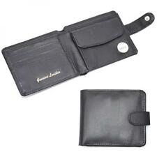 Genuine Leather wallet with Photo ID Holder Coin Card Note Holder Present GIFT