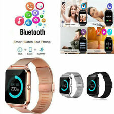 Z60 Smart Watch Bluetooth Camera GSM SIM Card Slot Phone Mate For Android IOS