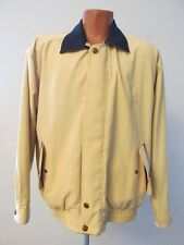 S7888 Kawasaki Men's XL Yellow/Blue Zip/Snap Reversible Lightweight Jacket