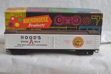 HO-Roundhouse 3609 Hoods Milk 50' Express Reffer GARE 805