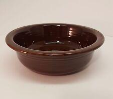 Fiestaware Chocolate Large Bowl Fiesta Brown 40 ounce Serving Bowl
