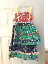 Matilda Jane Girls Shoe Knot Dress Size 2 NEW Without Tags.