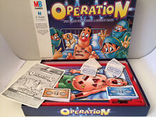 VINTAGE MB GAMES OPERATION BOARD GAME 1999 EDITION - 100% COMPLETE            H1