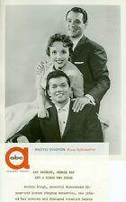 RAY ANTHONY DEBBIE KAY KULDIP SINGH RAY ANTHONY SHOW ORIGINAL 1956 ABC TV PHOTO