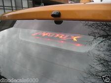 Toyota Matrix 3rd brake light decal overlay 09 2010 2011