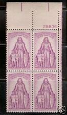 U.S.   #1087   3c POLIO Stamp Plate Block Unused