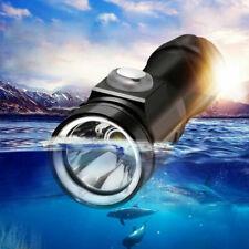 Diving Flashlight Dive Scuba Torch Snorkeling LED Lamp Underwater Lighting 700LM