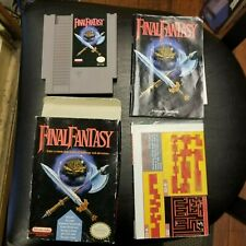 Original Nintendo Final Fantasy W/ Box And Original Map