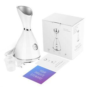 Sauna Facial Humidificateur à Vapeur Steamer Machine Nettoyage Visage Peau Face
