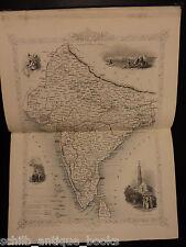 1853 1st ed Duke of Wellington Military & Atlas MAPS of Spain Holland INDIA