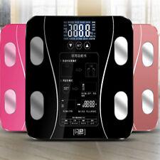 Wireless Bluetooth Digital Body Fat Scale Bathroom Health Analyser 180KG