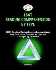 LSAT Reading Comprehension by Type, Volume 2: All 80 Reading Comprehension Passa