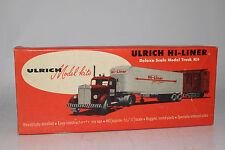 Ulrich Hi-Liner Deluxe Scale Model Truck Kit, KENWORTH TRACTOR MODEL RAILROAD