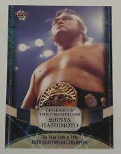 Shinya Hashimoto 2011 BBM Legend of Champions Card #19 New Japan Pro Wrestling