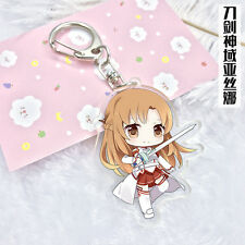 KeyChain Sword Art Online Anime Game Pendent Decorations Gift Cosplay Widget