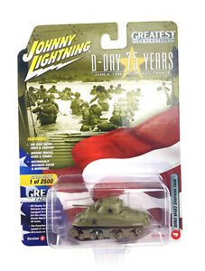 Johnny Lightning D-Day 75 Years 1 WWII Willy's MB Jeep Version B Release 3