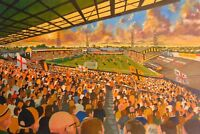 Boothferry Park Stadium Fine Art A4 Print - Hull City Football Club