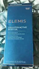 Elemis Cellutox Active Body Oil 3.3 oz / 100 ml Expirtn. 12 / 2021 Brand New Box