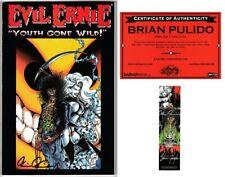Evil Ernie Youth Gone Wild Tpb 3rd Print w/Bookmark Signed Pulido Hughes Coa Nm
