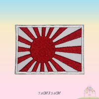 Japan National Flag Embroidered Iron On Sew On Patch Badge For Clothes Bags etc