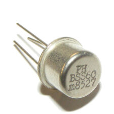 BSS60 PNP Darlington Transistor TO-39 Philips