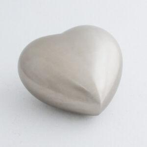 Cremation Urn - Pewter Heart Child/Infant Cremation Urn - Second Quality.