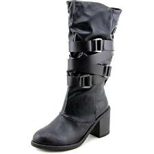 Blowfish Women's Synthetic Leather Mid Heel (1.5-3 in.) Boots