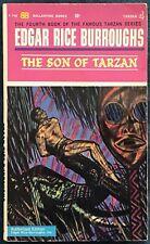 The Son Of Tarzan  Edgar Rice Burroughs  Bantam Paperback