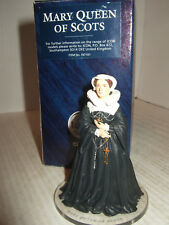 Corgi Icon FO7101, Mary Queen of Scots in fine Metal on display base 65mm tall.