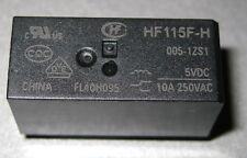 Lotto stock Nr.34 relè HF115F-H 005-1ZS1 HONGFA 5VDC 10A relais11