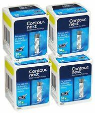 200 Contour Next Test Strips 4 Boxes of 50