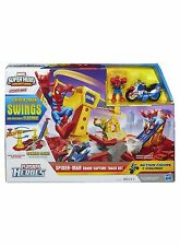 Playskool Heroes Marvel Avengers Spiderman Crane Ages 3+ Hasbro Spider Man Track