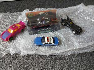 Scalextric Batman Cars x4,, 1 new,,