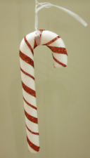 20cm Large Red/White Candy Cane Christmas Tree Decorations Pack x4