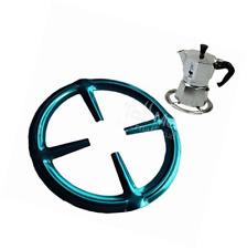 Anello IN ACCIAIO INOX GAS RIDUTTORE Sottopentola STOVE Top PIANO COTTURA FORNELLO calore Simmer Caffè