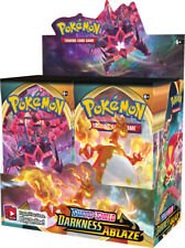 5 DARKNESS ABLAZE Booster Pack Lot : Factory Sealed From Box Pokemon Cards