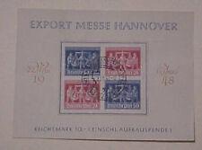 GERMAN FDC 1948 SE-TENANT BLOCK #VZdi cat.$165.00
