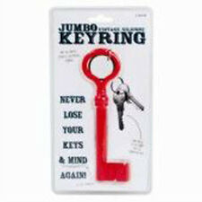 Jumbo Vintage Silicone Key ring Prank Joke Gag Presents Gift Weird Funny Novelty
