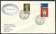 GB SCOTLAND 1970 cover COMMANDING OFFICER / A.C.S.BULLFINCH ship cachet....47962