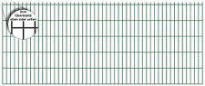 30% günstiger! Doppelstabmatten Zaun 8/6/8 225cm x 83cm hohe Gittermatte in grün