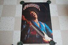 "Vintage Original Jimi Hendrix Poster 1987 San Francisco Jim Marshall 36""L x 24""W"