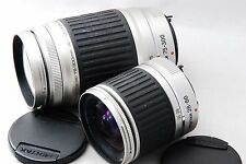 Exc!! Pentax SMCP-FA FA J 28-80mm & 75-300mm Lens For Pentax w/Cap #0501-4