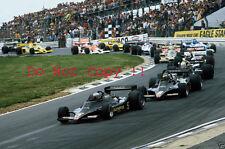 Mario Andretti & Ronnie Peterson Lotus 79 British Grand Prix 1978 Photograph