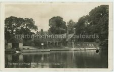 The Beetle & Wedge Hotel Moulsford on Thames Real Photo Postcard, C066
