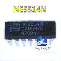 5PCS NE5514N DIP-14 Quad high-performance operational amplifier new
