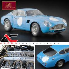 CMC M-140 1:18 1961 ASTON MARTIN RACING BLUE DB4 GT ZAGATO DIECAST LE 1,000