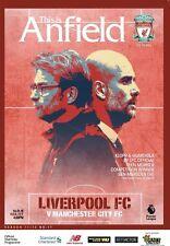 Programme : Liverpool v Manchester City - Premiership - 14 January 2018 - MINT