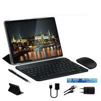 Tablet PC10'1 pollici Android 4GB RAM64 GB DUALSIM+TASTIERA+MOUSE+CUSTODIA+PEN